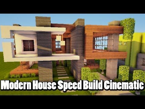 Amazing modern minecraft house speed build must see for Amazing modern houses minecraft