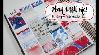 "Plan With Me! ft. Simply Watercolor Co. ""Sparkles"""