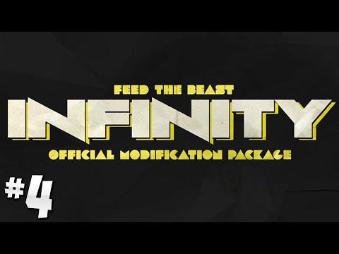 FTB Infinity- Ep.4 - Steve's Carts Tree/Charcoal Farm! [Minecraft 1.7.10]