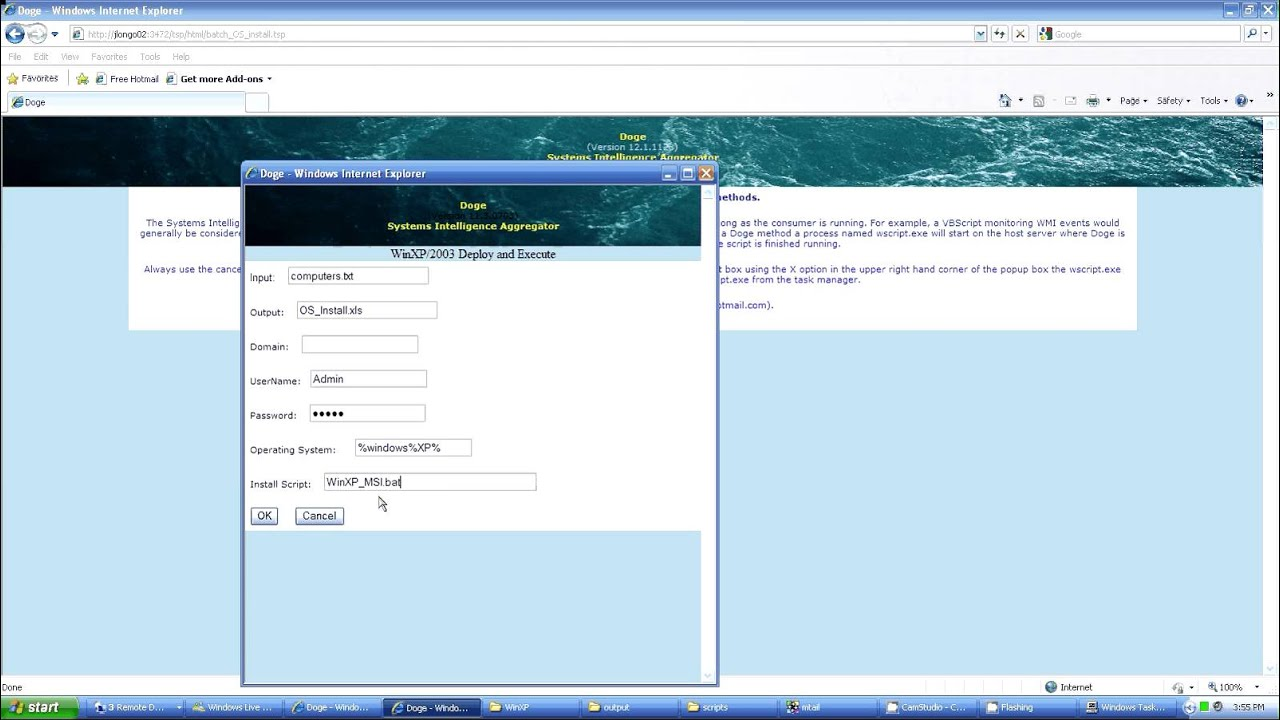 psexec remote software installation to multiple systems
