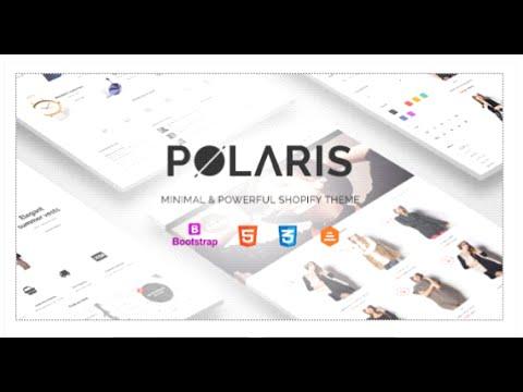 Polaris - Minimal & Powerful Shopify Theme by Planetshine | ThemeForest  Download
