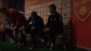 FC Jazz - TPS ottelun jälkeinen lehdistötilaisuus