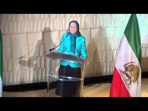 Maryam Rajavi, President-elect of the Iranian Resistance, Anniversary of Revolution PARIS 2013