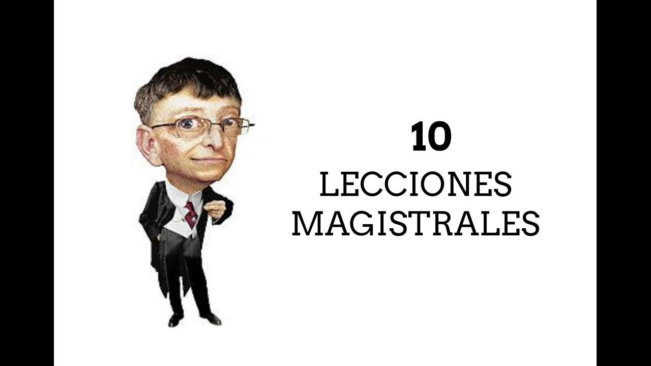 Las 10 Mejores Frases De Bill Gates Lecciones Magistrales