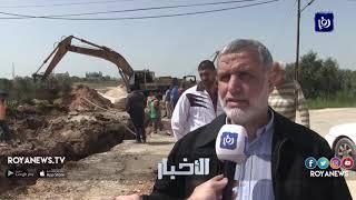 """تواصل أعمال مشروع """"غاز الاحتلال"""" في اربد رغم الرفض الشعبي - (11-4-2019)"""