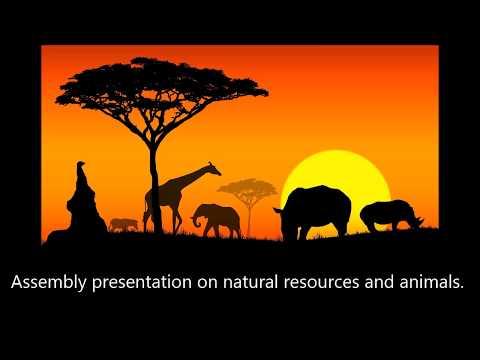 ISA - Africa, A Multilingual Rebirth  Activity 1 Sub Activity 4 by Riverside Montessori School
