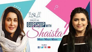 Maya Khan - A Leading Name of Television Industry | GupShup with Shaista