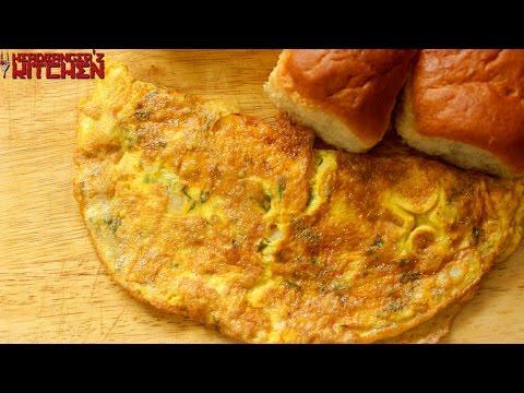 Masala Omelet | Keto Recipes | Headbanger's Kitchen