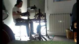 Nightrage - Reconcile drum cover
