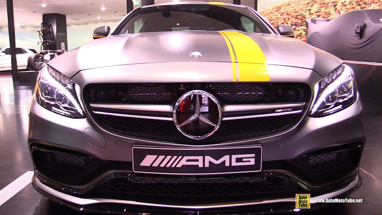Mercedes amg c 63 s coupe edition 1 2016 wallpapers and hd images - 2016 Mercedes Amg C63 Coupe Edition 1 Exterior And Interior Walkaround 2015 Frankfurt Motor Show Youtube