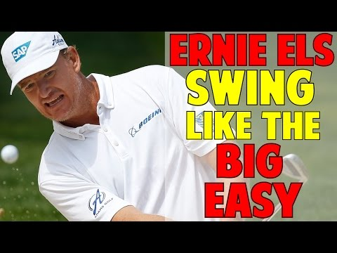 ERNIE ELS GOLF SWING ANALYSIS | HOW TO SWING LIKE THE BIG EASY