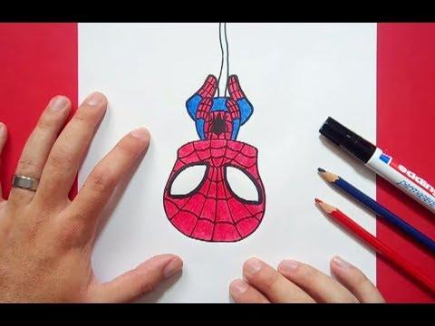 Como Dibujar A Spiderman Paso A Paso 3 How To Draw Spiderman 3