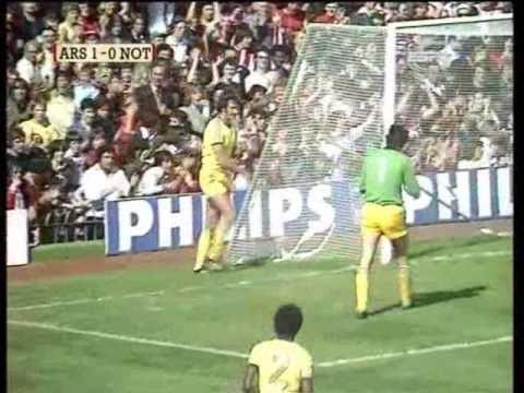 Arsenal 3-0 Nottingham Forest 1977-78