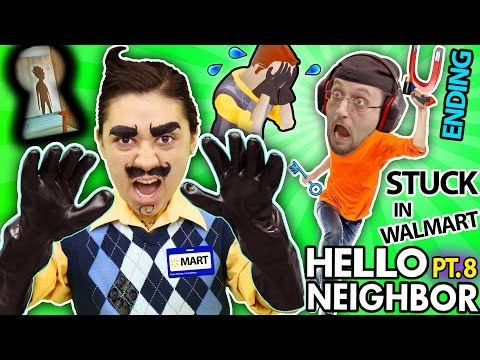 HELLO NEIGHBOR IN REAL LIFE! Cry Baby in ALPHA 3 Basement +
