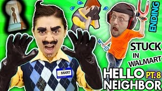 HELLO NEIGHBOR IN REAL LIFE! Cry Baby in ALPHA 3 Basement + His Name Revealed?  (FGTEEV Part 8 IRL)