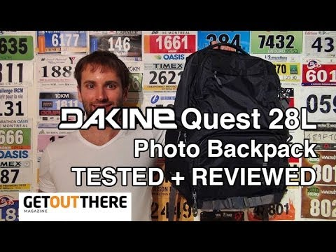 ccd22a971aeba DaKine Quest Photo Backpack TEST + REVIEW - YouTube
