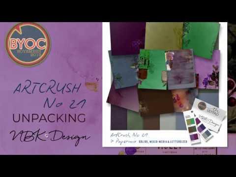 What's inside + Tips and Tricks - Unpacking artCrush No21
