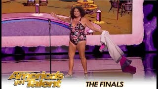 Vicki Barbolak STRIPS DOWN To Swimsuit During AGT Finals | America's Got Talent 2018