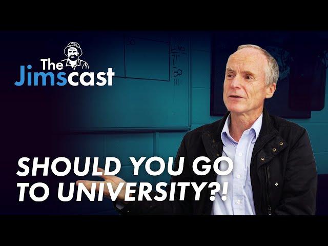 #JIMSCAST Jim Penman on the value of going to university? | www.jims.net |