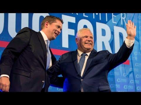 Will Doug Ford's unpopularity impact Andrew Scheer's success in the polls?