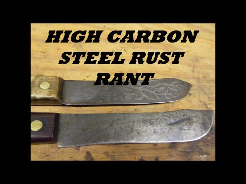 how to clean stainless steel knives with rust