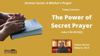 Nineteenth Street Baptist Church Worship Service Sunday May 23 2021