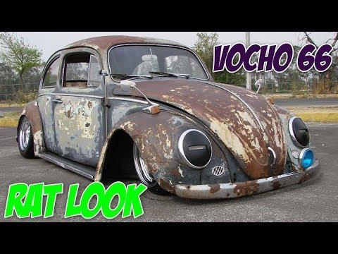 Vocho 66 Con Estilo Rat Rod