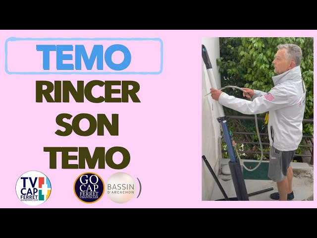 TEMO Moteur électrique 08 TUTO  Rincer son TEMO , Cap Ferret Bassin d'Arcachon