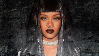 rihanna inspired grunge makeup tutorial