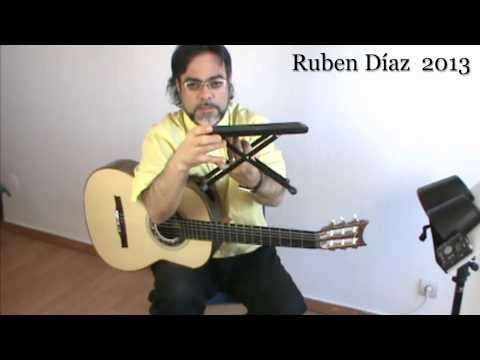 Tips: Posture & Accessories Dynarette Support Cushion / Andalusian Guitar Lessons/ Ruben Diaz e-zine
