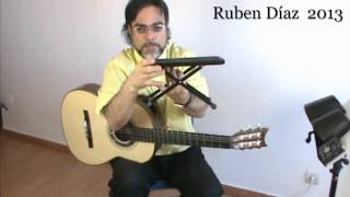 Tips: Posture & Accessories Dynarette Support Cushion / Andalusian Guitar Lessons/ Ruben Diaz e-zine