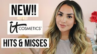 TESTING NEW IT COSMETICS MAKEUP! HITS & MISSES | ALEXANDREA GARZA