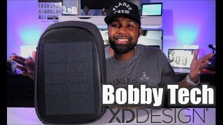 Bobby Tech Anti-Theft backpack | by XD Design