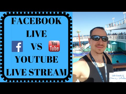 Facebook Live vs YouTube Live - Which is Better? #Live