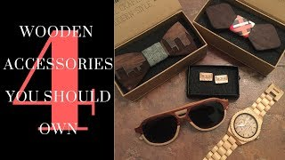 4 Wooden Accessories You Should Own