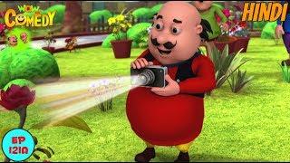 Motu Patlu | Colour Changing Camera | Cartoon in Hindi for Kids | Funny Cartoon Video