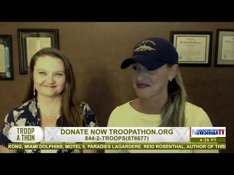 Scottie Nell Hughes joins Troopathon
