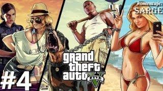 Zagrajmy w GTA 5 (Grand Theft Auto V) odc. 4 - Pościg za łodzią