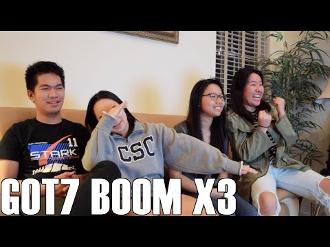 GOT7 (갓세븐)- Boom x3 (Reaction Video)