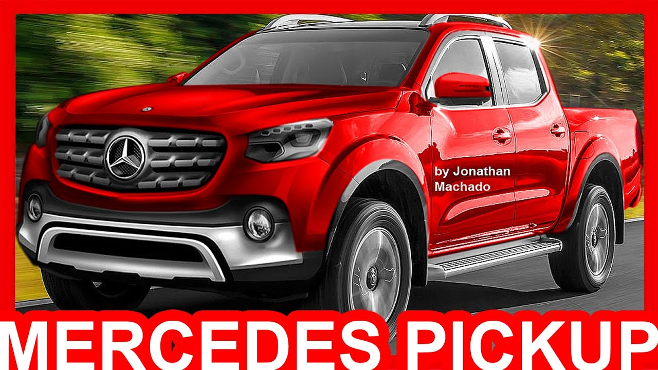 PHOTOSHOP Nova Mercedes Benz Classe X Pickup 2018 Nissan