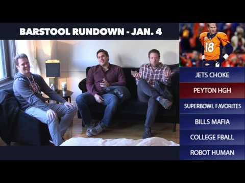 Barstool Rundown // January 4th 2016