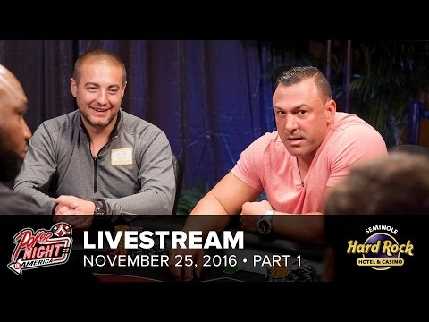 Livestream | $100/200 High Roller | 11-25-16 | Part 1 of 2 |