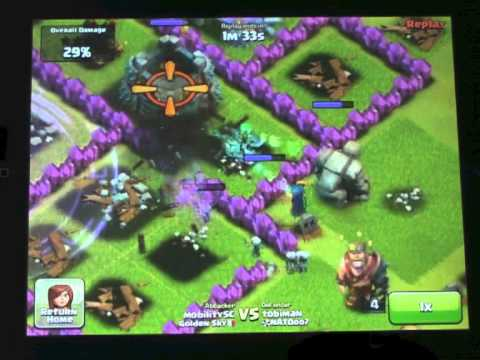 Max level Witch - clash of clans - YouTube