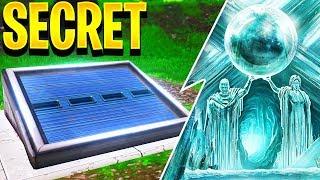 QUOI INSIDE THE NEW SECRET SUPERHERO BUNKER IN FORTNITE?