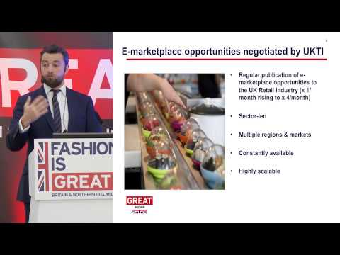UKTI's e-Exporting Programme Manager, Ben Morgan: e-Exporting - accessing international markets
