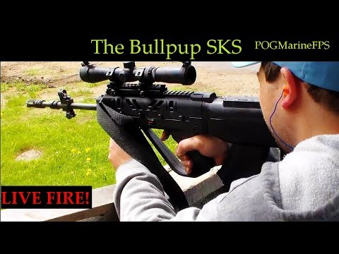 The SKS Bullpup 7 62x39 Dream Yugo LIVE FIRE Review