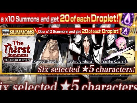 "Bleach Brave Souls: Guerra dos Mil Anos ""The Thirst"" Última Chance Unohana!!! Omega Play"