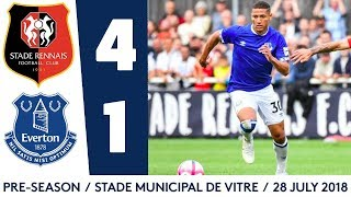 RICHARLISON'S FIRST EVERTON GOAL | STADE RENNAIS 4-1 EVERTON
