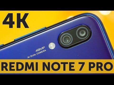 Тест 4K видео Xiaomi Redmi Note 7 Pro Sony IMX586 СУПЕР качество (4K Video Test)