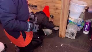 Big Northern Pike caught ice fishing 2020